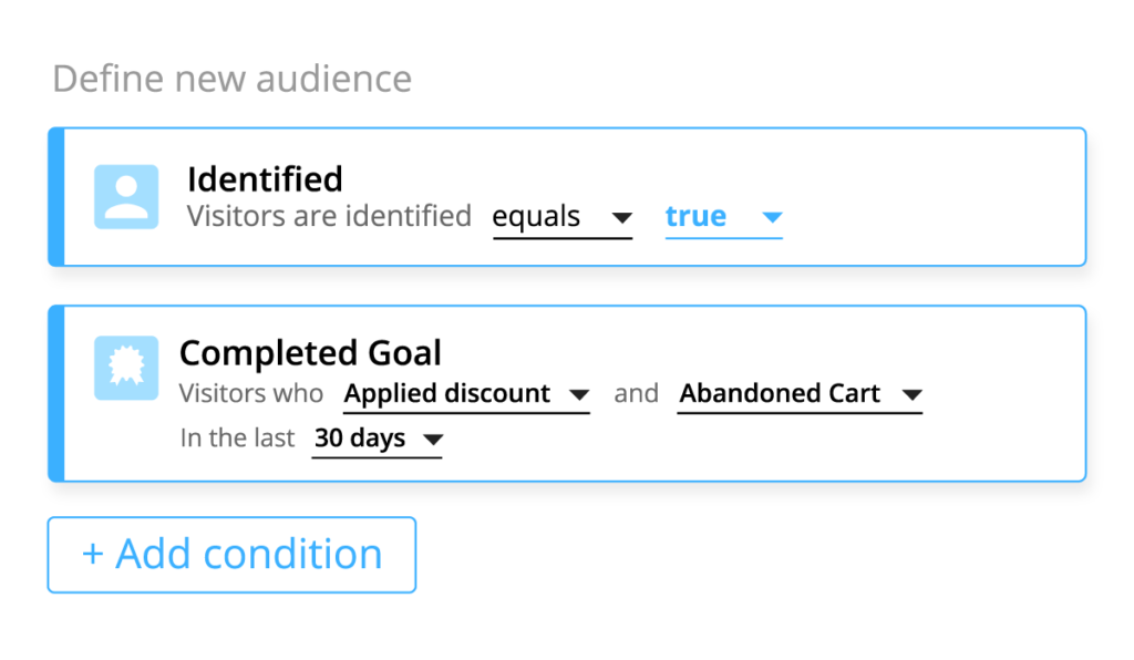 Define audiences