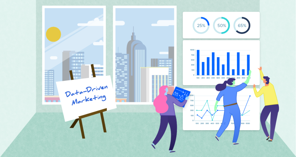 Examples of data driven marketing
