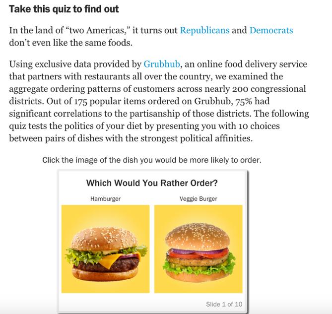 Grubhub Quiz