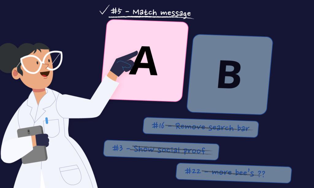 Scientist A/B-testing Ideas