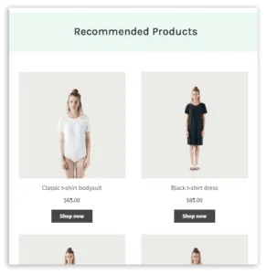 product recommendations