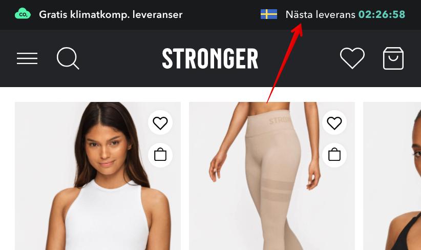 stronger erbjudande