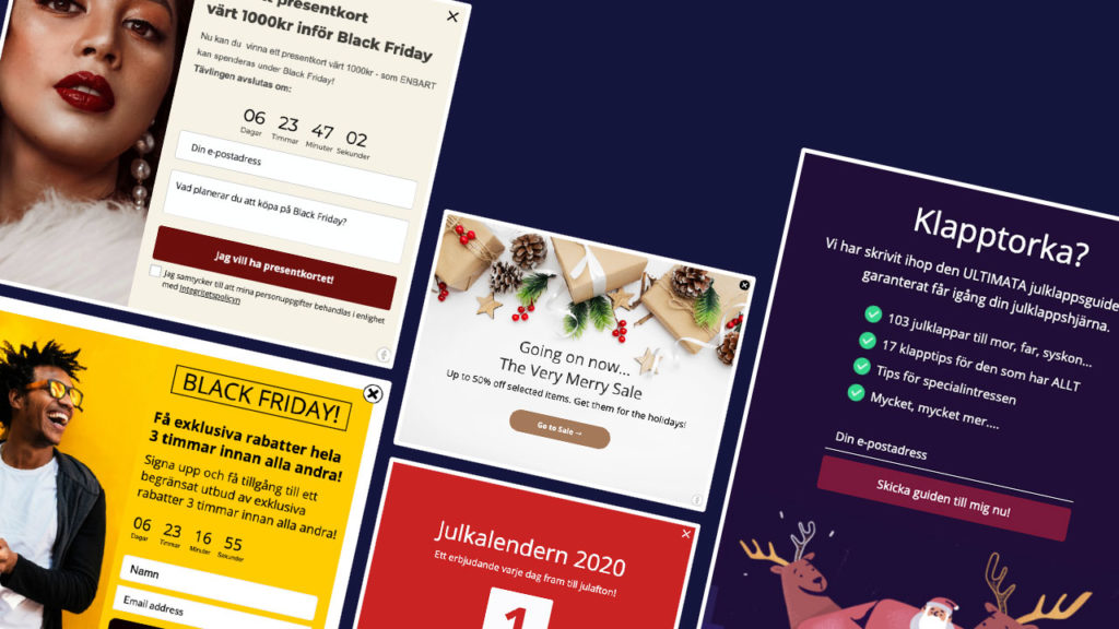 Black friday campaign examples